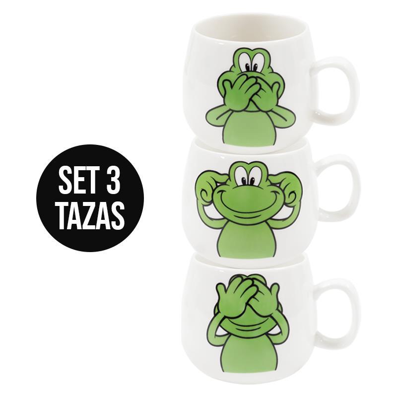 TAZA SET 3 - SF DO NOT