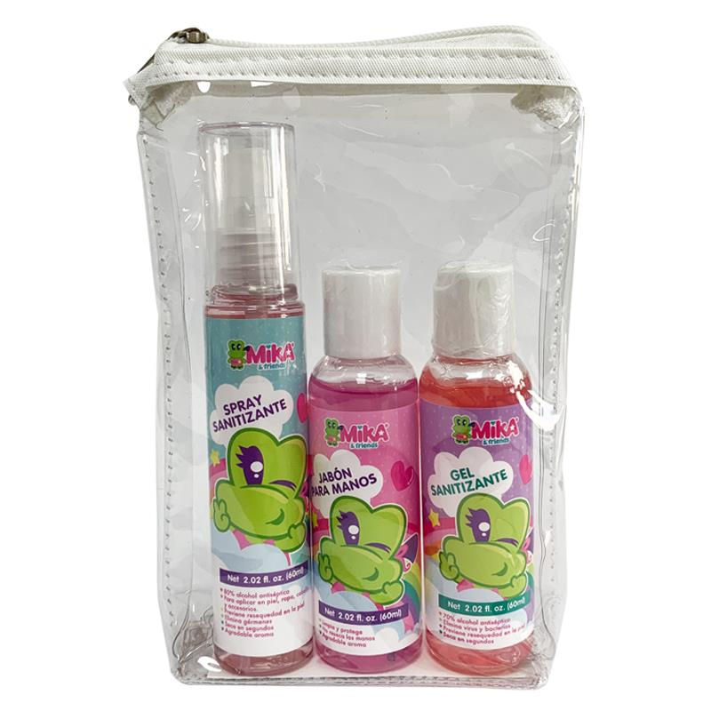 KIT SANITIZANTE - MK RAINBOW SET