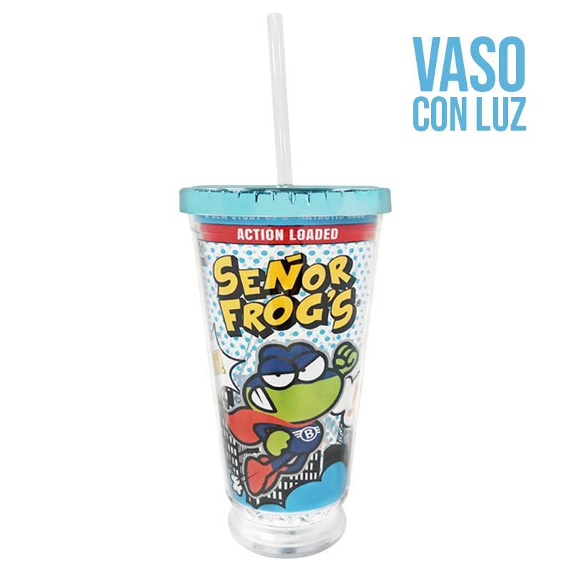 VASO C/LUZ DWALL - SF HERO BIXO DRINK