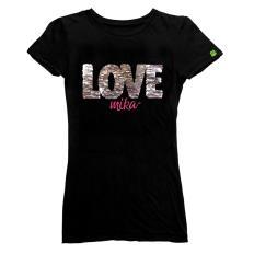 PLAYERA D BASICA - MK LOVE U BRIGHT GDE